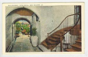 Old Stairway, Patio Royal, New Orleans, Louisiana, 1900-1910s