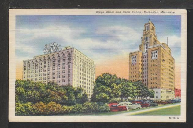 Mayo Clinic,Rochester,MN Postcard / HipPostcard