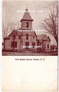 First Baptist Church, Pulaski NY
