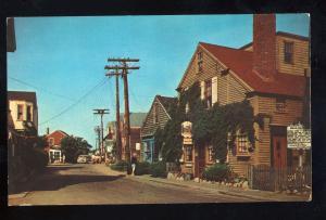 Rockport, Massachusetts/Mass/MA Postcard, Bearskin Neck