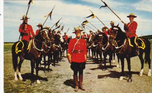 Canada Royal Canadian Mounted Police on Horse Musical Ride