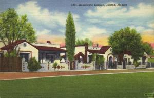 mexico, JUAREZ, Residence Section (1940s)