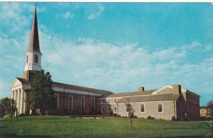 Exterior,  First Methodist Church,   Morganton,   North Carolina,  40-60s