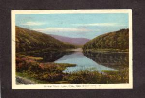 NS Lake O'Law Cape Island Breton Nova Scotia Canada Carte Postale Postcard