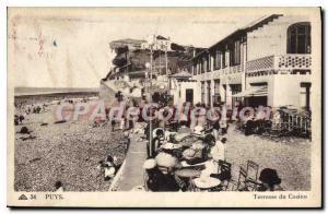 Postcard Old Terrace Puys Du Casino