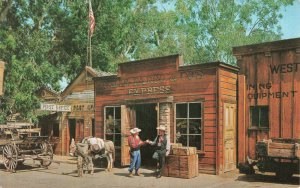 Postcard The Prospector And His Grub Stake Knott's Berry Farm Buena Park CA