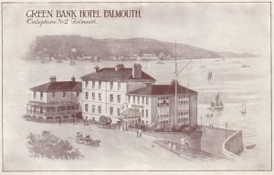 FALMOUTH, Cornwall, England, 1900-10s ; Green Bank Hotel