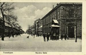 norway norge, TRONDHJEM TRONDHEIM, Nordre Gate (1910s)