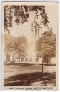 RPPC Thompson Chapel, Williams College, Williamstown MA