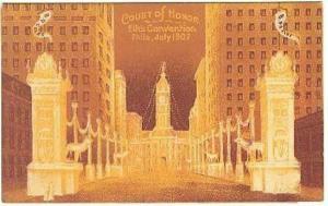 pc4263 postcard Elk's Convention Philadelphia July 1907
