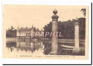 Rambouillet Old Postcard The castle took channels