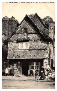 Quimperle  Vielle Maison de la Place St.Michel  RPC