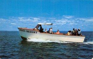 Judd's Resort Ferry Boats Ship Writing on back
