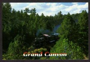 AZ Railroad Train Engine No 18 GRAND CANYON ARIZONA PC