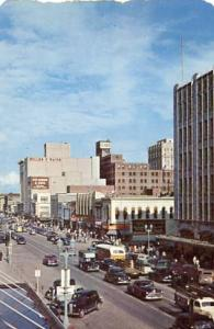 NE - Lincoln, O Street East from 10th Street, Early 1950's