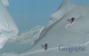 Mt Logan , Canada , Skiing , 1992