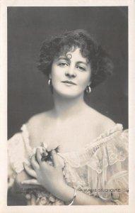 Eccleshill UK Marie Studholme~Actress~Victorian~Alice in Wonderland~1910 RPPC