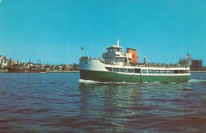 Excursion Boat MARIETTA, San Diego, California Vintage Postcard
