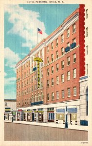 New York Utica Hotel Pershing