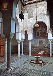 Morocco Meknes Muley Ismail Tomb Tumba de Mouley Ismail