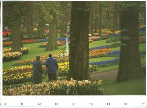 Holland, Netherlands, Keukenhof, 1994 used Postcard