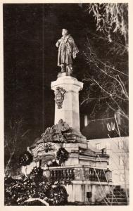 Poland Warszawa monument photo postcard
