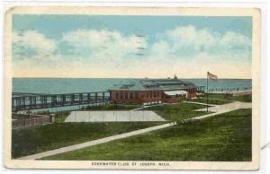 Edgewater Club, St. Joseph, Michigan, PU-1925