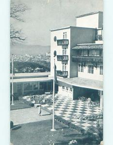 Pre-Chrome HOTEL SCENE Caracas Venezuela F6562