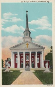 BARDSTOWN , Kentucky , 1910-30s ; St. Joseph Cathedral