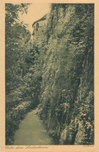 Postcard Germany Unter dem Lindenstamm  von Paul Hommel