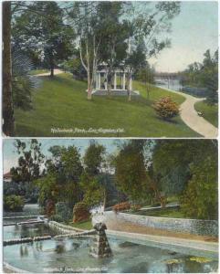 2 D/B Hollenbeck Park Los Angeles California CA 1908-9