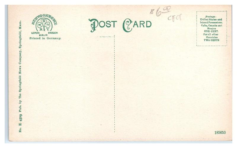 Early 1900s Southwick Hotel Ma Postcard