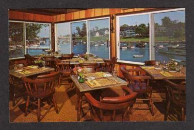 Ogunquit Maine Me Whistling Oyster Restaurant Postcard Hippostcard