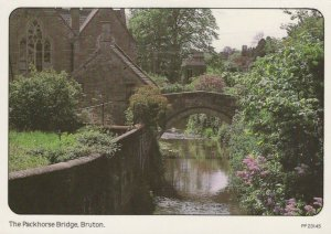 Somerset Postcard - The Packhorse Bridge, Bruton    RR8625