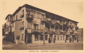 Mission Inn Monterey California Albertype
