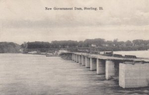 STERLING, Illinois, 1908; New Government Dam