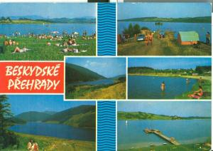 Czech Republic, Beskydske Prehrady 1976 used Postcard