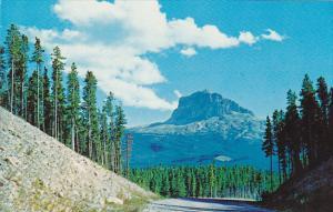Canada Alberta Waterton Lakes Chief Mountain