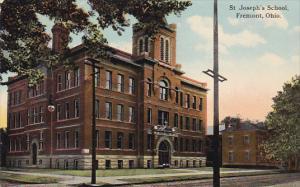 FREMONT, Ohio, 1900-1910s; St. Joseph's School