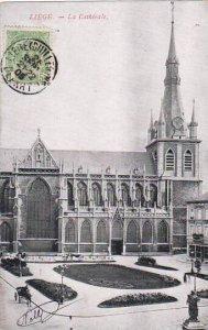 Belgium Liege Statue Charlemagne 1905