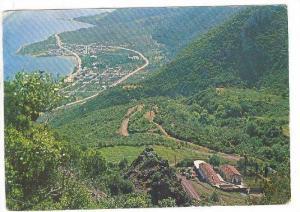 KAMENA VOURLA, View of the monastery Souros VII century, PU-1970