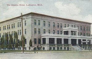 LUDINGTON , Michigan, 1912 ; Stearns Hotel