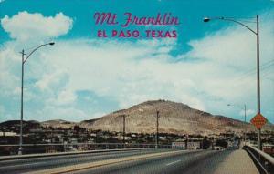Texas El Paso Mount Franklin