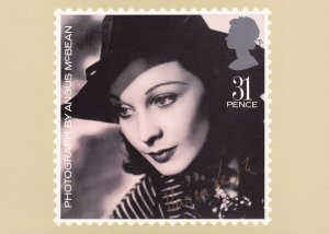 Vivien Leigh Royal Mail PHQ Stamp Limited Edition Postcard