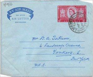 Entier Postal Stationery Postal Aerogramme Aeogram Great Britain Great Britain