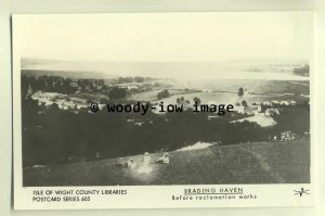 pp1671 - The Brading Haven, Before the Reclamation Works - Pamlin postcard