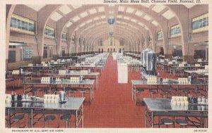 RANTOUL, Illinois, 1930-1940's; Interior, Main Mess Hall, Chanute Field