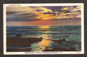NY Greetings from CUDDEBACKVILLE NEW YORK Sunset PC