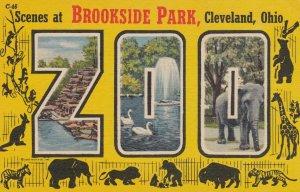 Large Letter ZOO , Cleveland , Ohio , 1930-40s