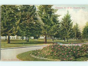 Divided-Back UNIVERSITY OF OREGON Eugene Oregon OR v3968
